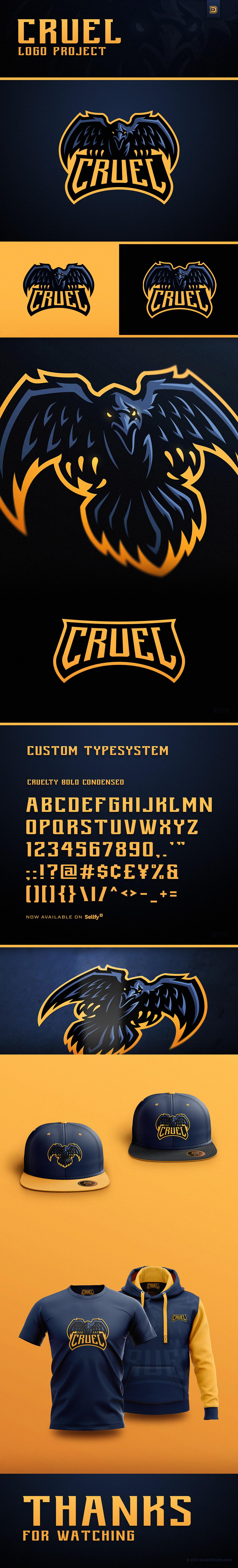 Cruel Gaming Logo Design - DaseDesigns