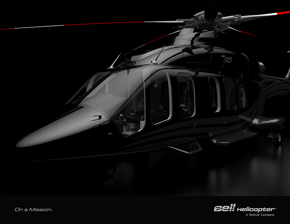 Bell 525 Vvip Interior Designs On Behance