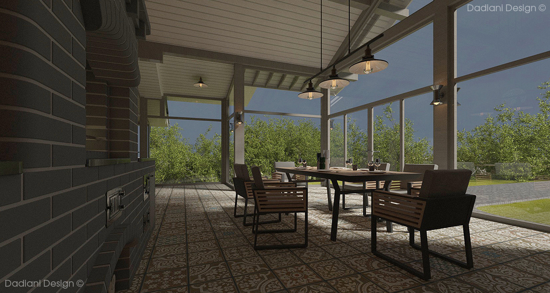 architecture interior design  private house visualization архитектура графический дизайн дизайн дизайн интерьера загородный дом котедж