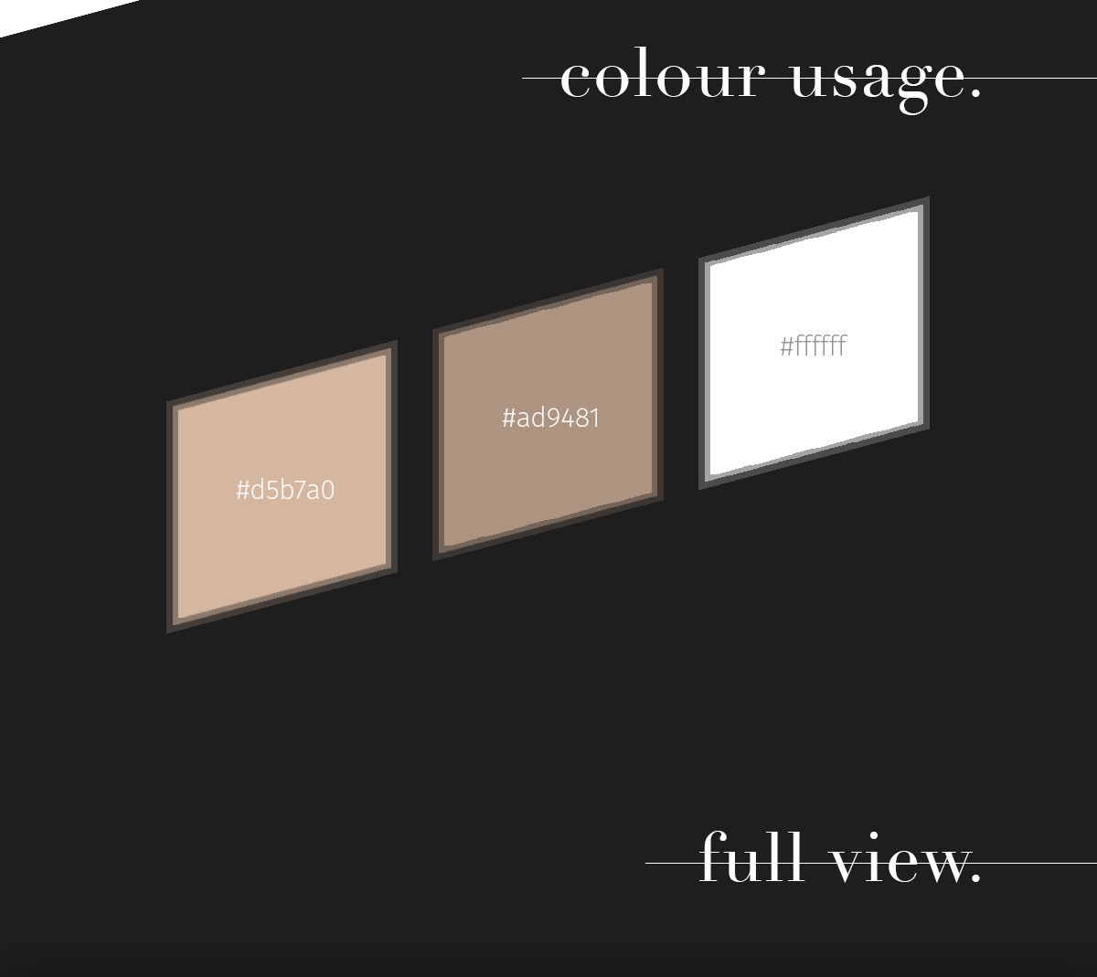 freebie template portfolio Webdesign stylish elegant free download