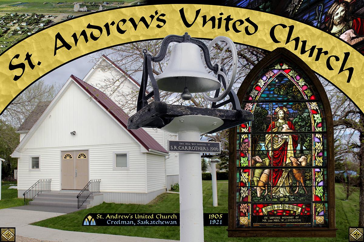 Mural collage photoshop photo editing church