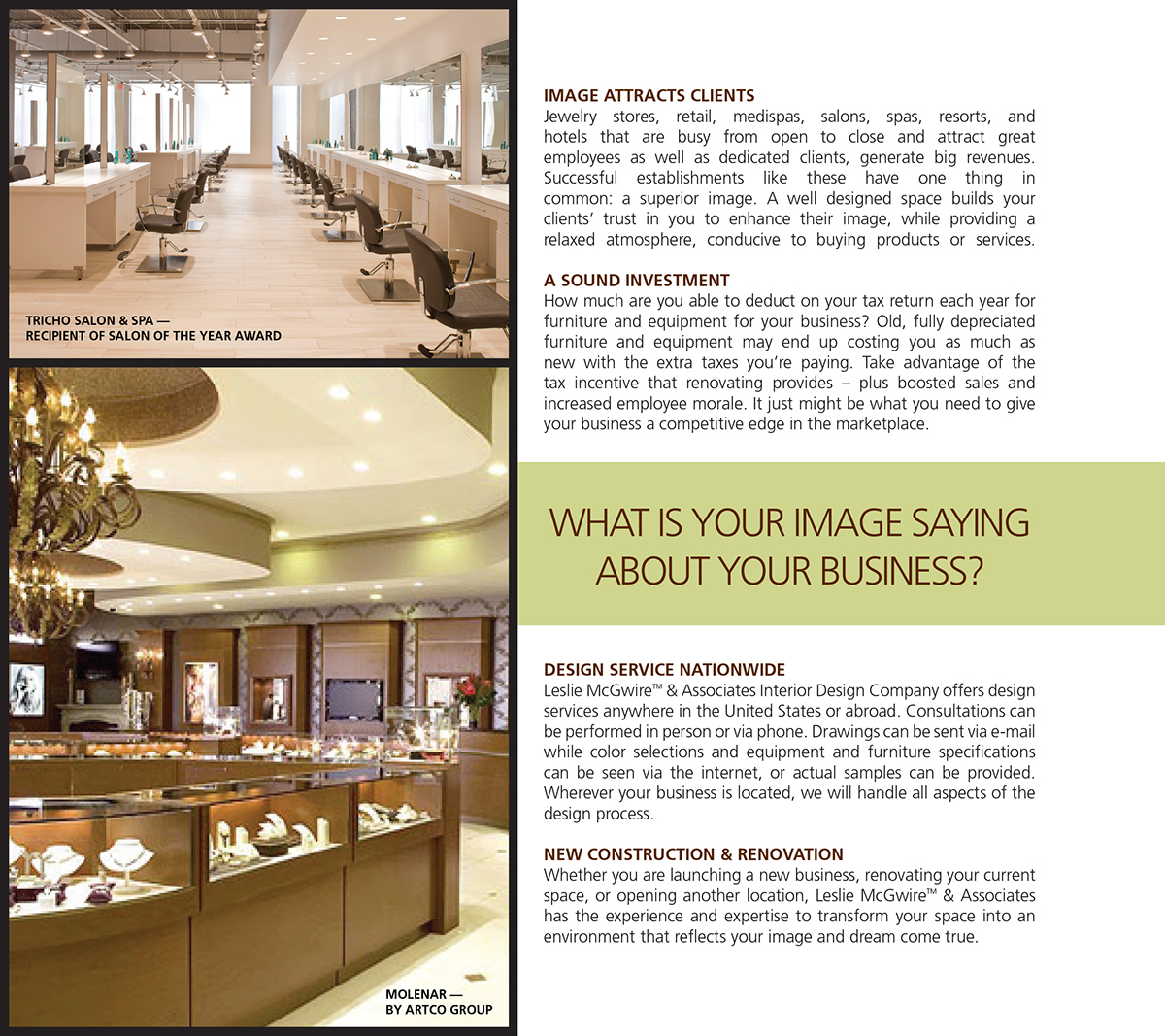 Interior design soty award winning salon 416 on behance for Award winning interior design