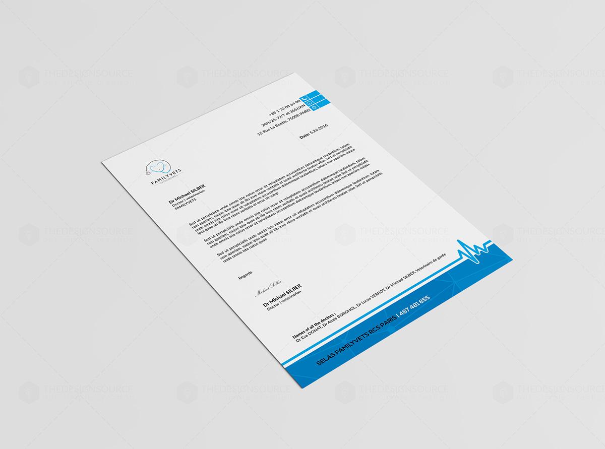 Professional Letterhead Design On Behance
