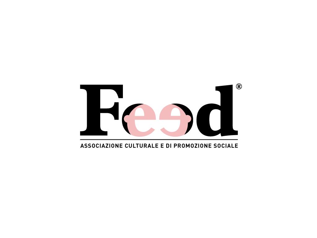 feed associazione culturale logo face facce cultural Association faces minimal people smile talk speak parlare