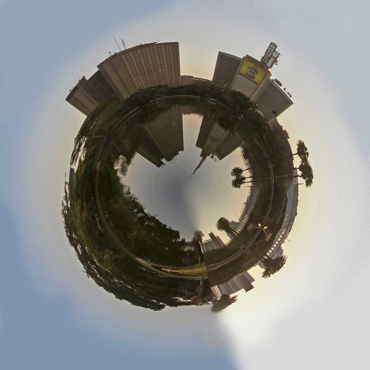 creative nairobi kenya cityscapes manipulation littleplanet