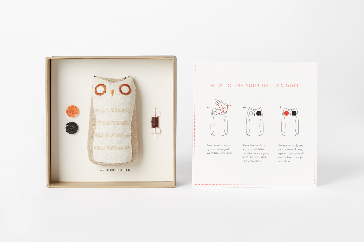 Best customers gift for Anthropologie on Behance