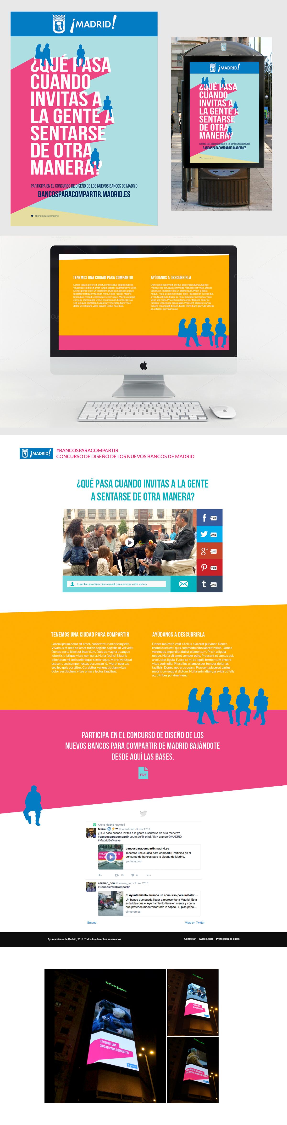 institucional publicidadexterior bancosparacompartir ayuntamientomadrid