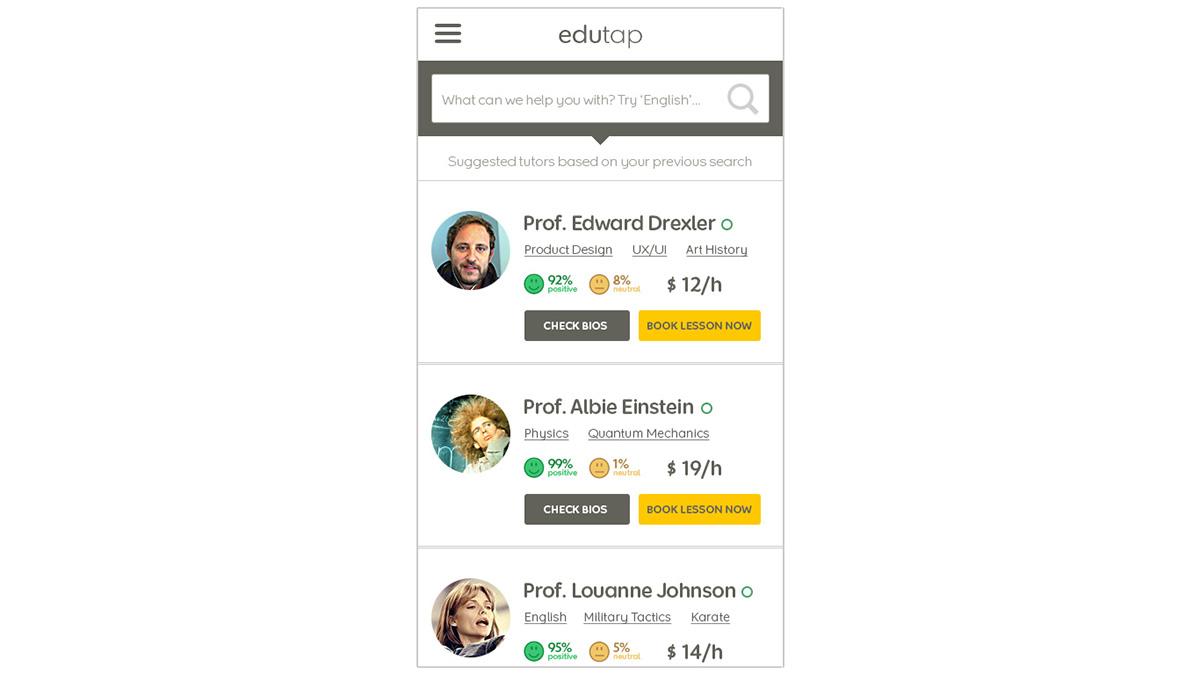 ux UI mobile Responsive