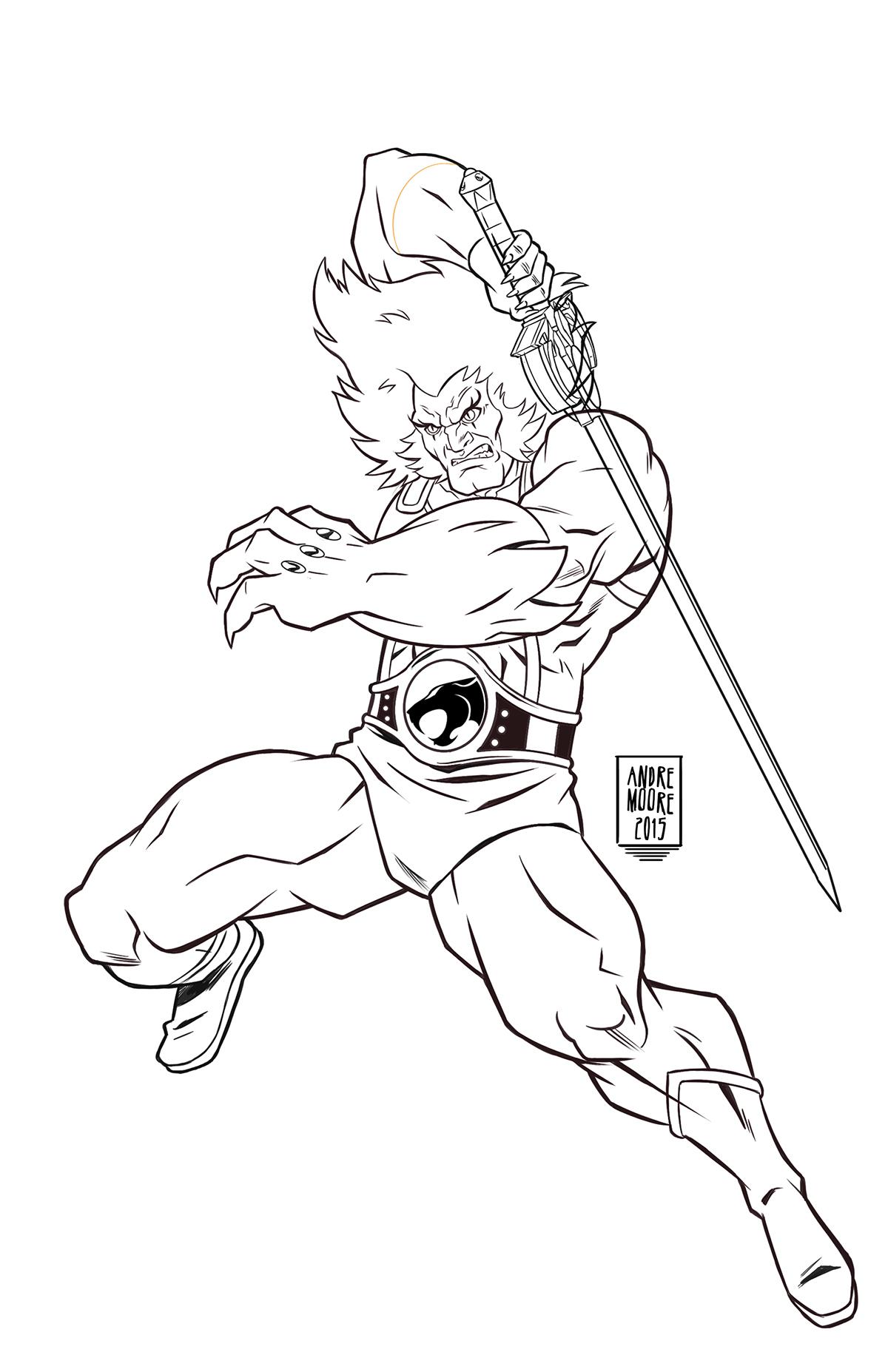 80s cartoon thundercats Lion-O