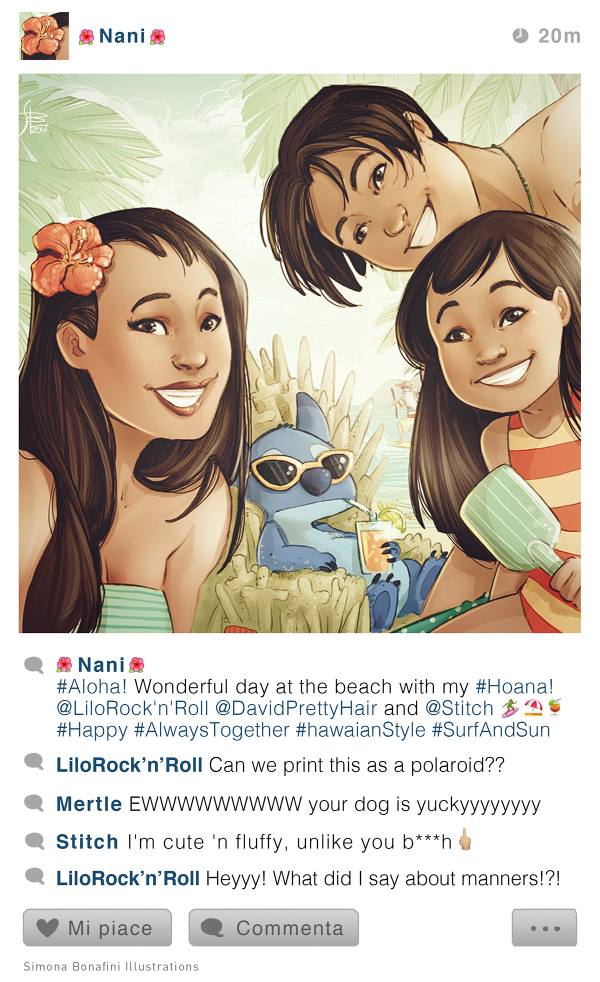 Selfie Fables What If Disney Stories Have Instagram On Behance