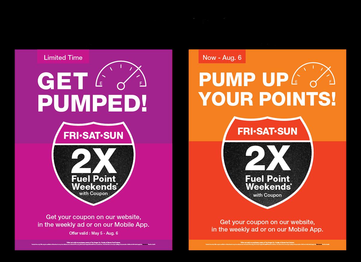 Kroger Summer Fuel Promotion on Behance