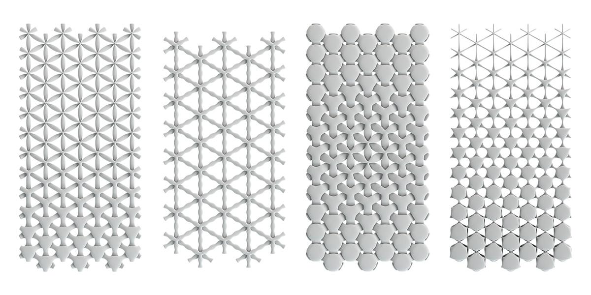 3D Parametric Pattern Design 1 On Behance