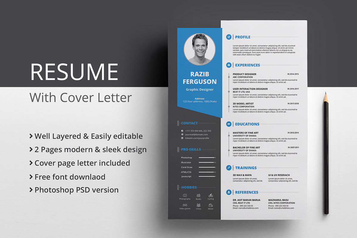 Free Resume & Cover Letter on Pantone Canvas Gallery