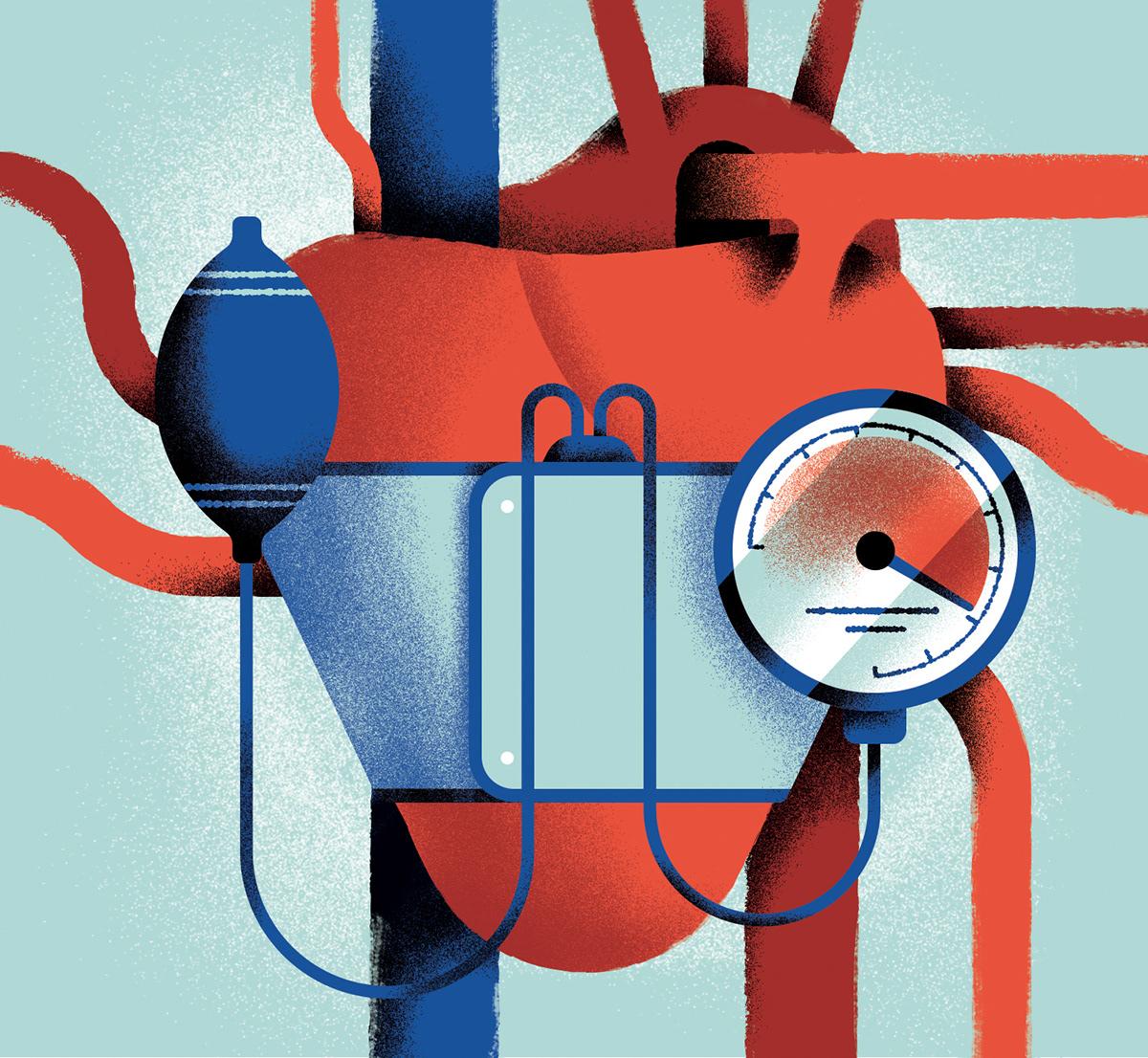Editorial Illustration ILLUSTRATION  newspaper Health
