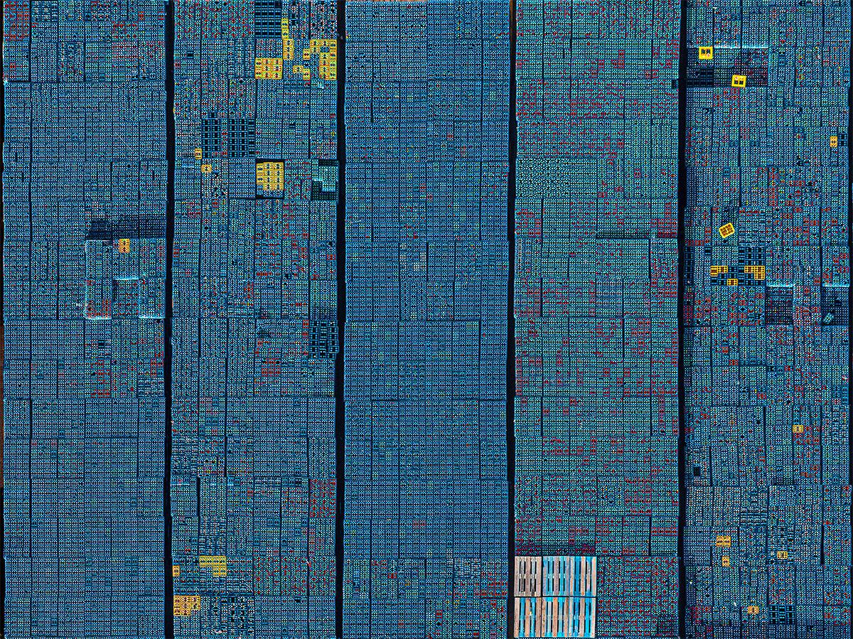 Aerial crate beverage industry stack pile Bar Diagram colorful