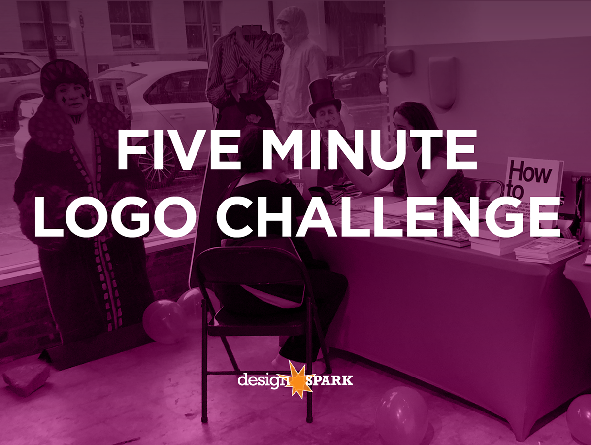 Five Minute Logo Challenge Sparkcon 2018 Logofolio On Behance Designers The Was A New Event For Designspark At Volunteer Were Paired With Festivalgoers Who Had An Idea