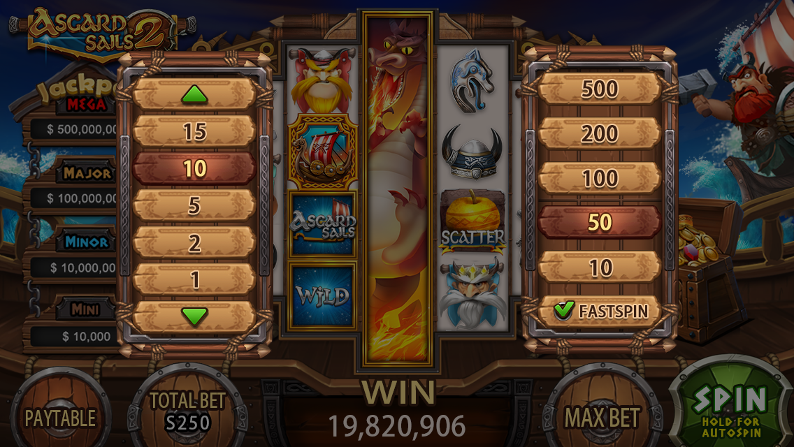 2016 slot game graphic design
