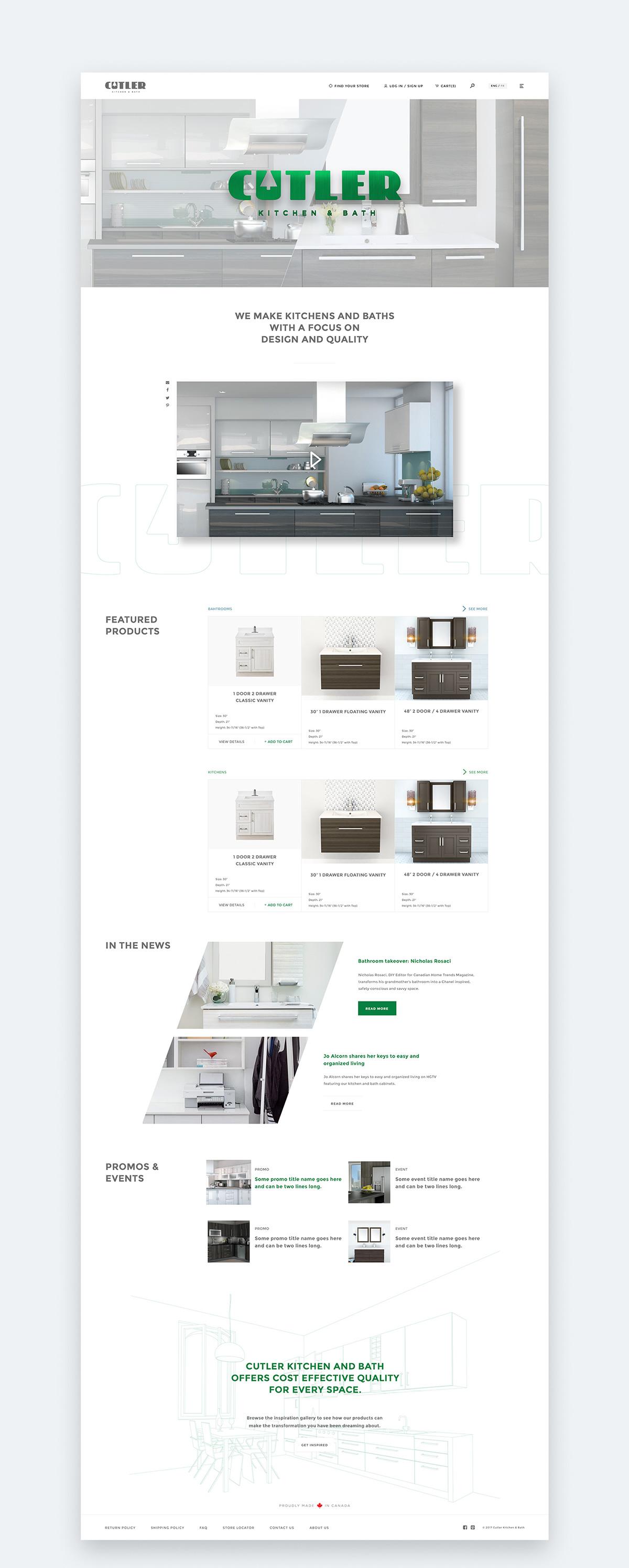improvement urban bath ca kitchen vanity wayfair pdp cutler home