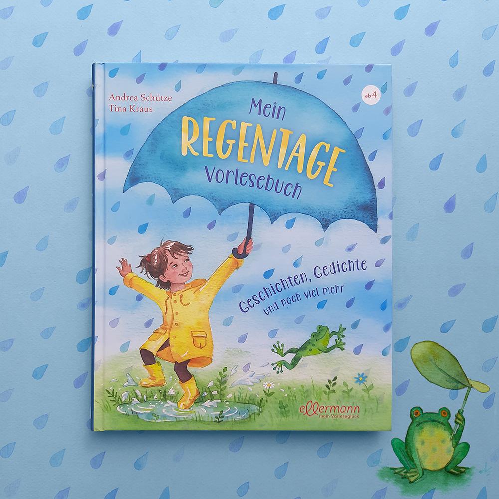 children's book Diversity ILLUSTRATION  kid's book kidlit kinderbuch rain rainy watercolor