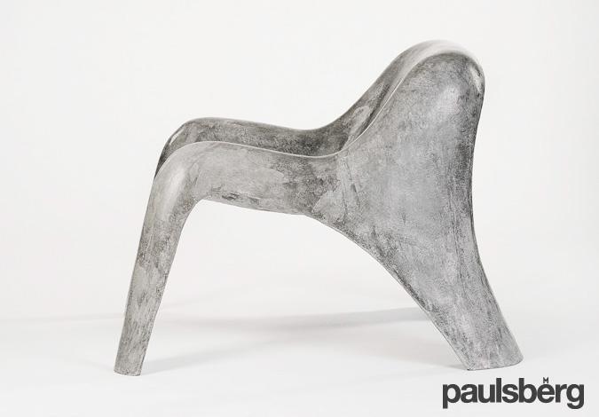 Paulsberg Habitat - concrete lounge chair »Spurt« on Behance