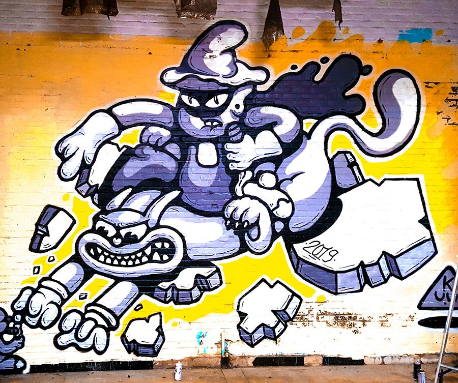 Image may contain: cartoon, drawing and graffiti