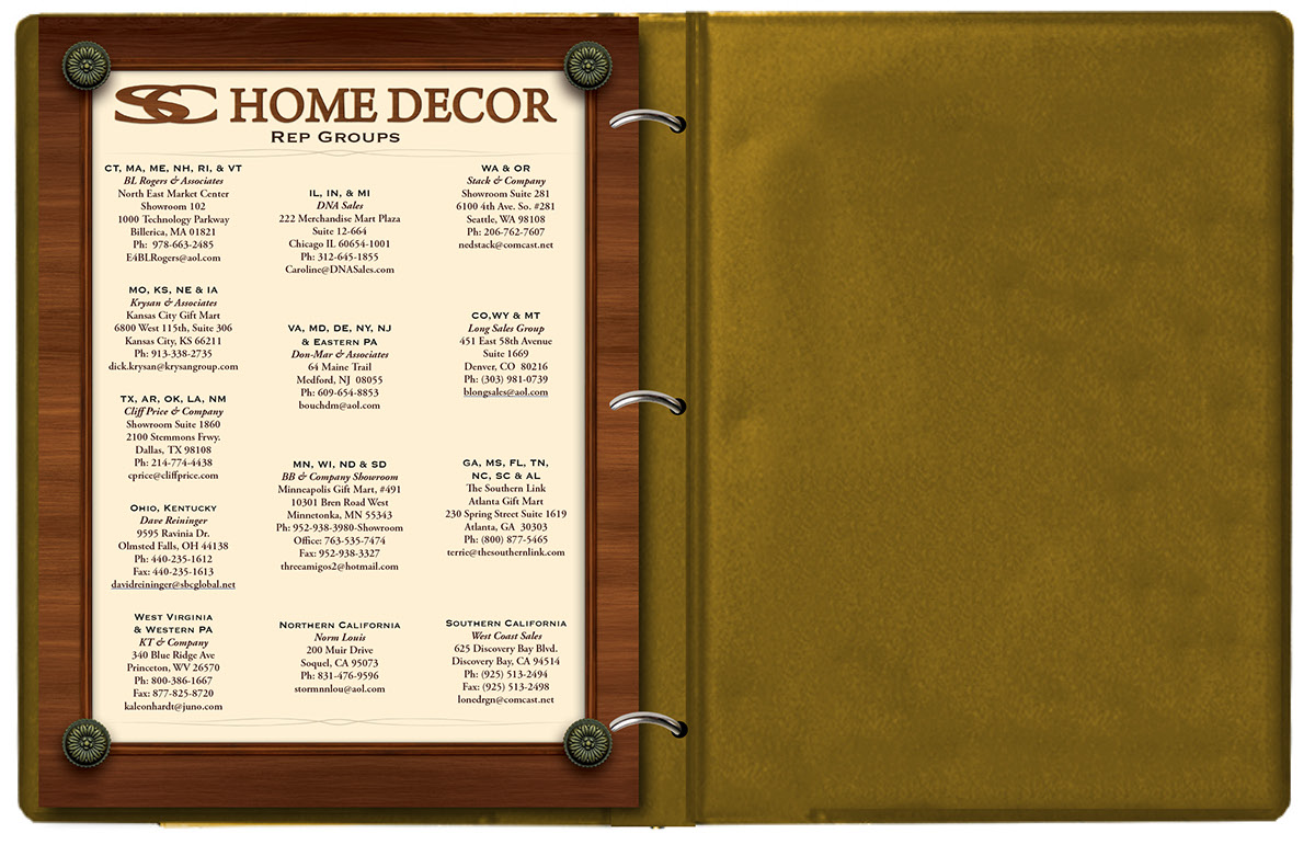 SC Home Dcor Wholesale Catalog on Behance