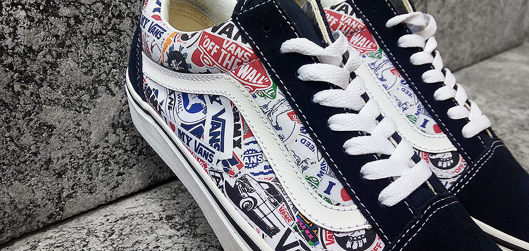 Vans 50th Anniversary Sticker Pack on Behance b5b871f27cdb