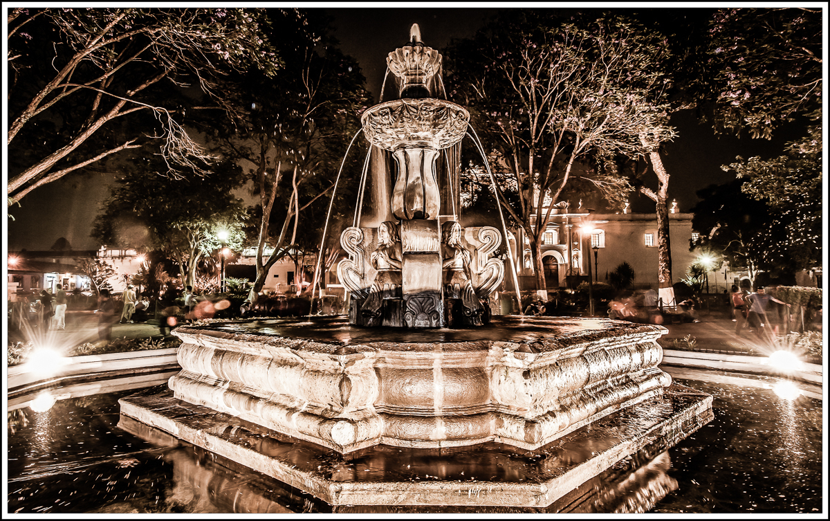 Antigua Fountain