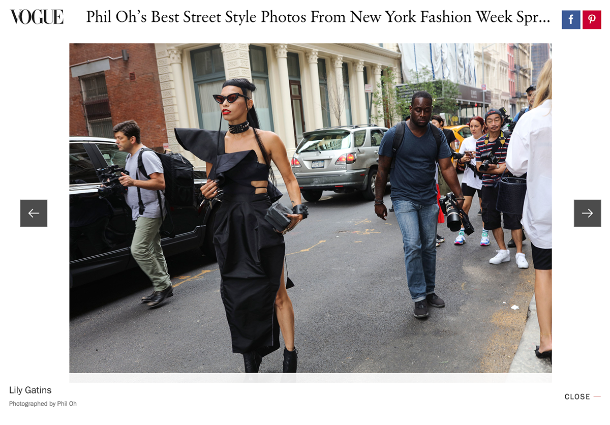 Dress On Vogue Best Street Style Spring 19 On Scad Portfolios