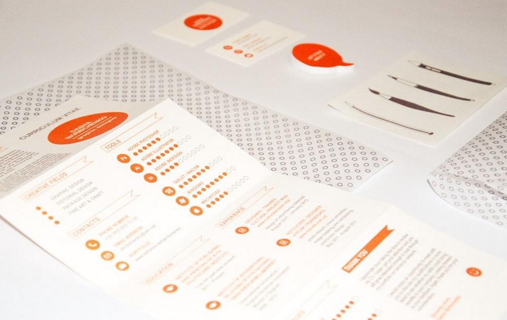 self-promotion  CV infographic cv  resume