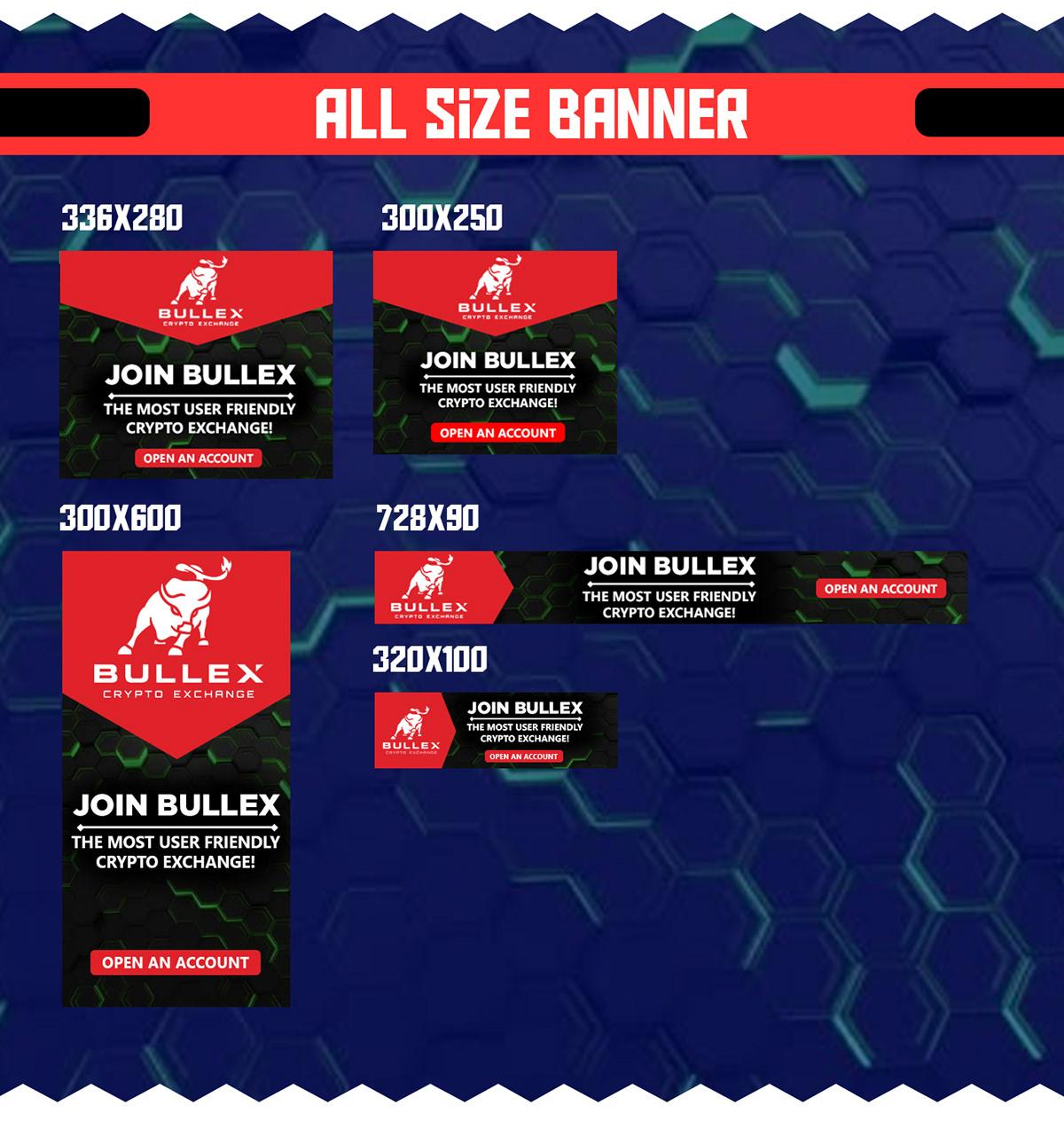 Bullex-Banner Ads Design 2 on Wacom Gallery