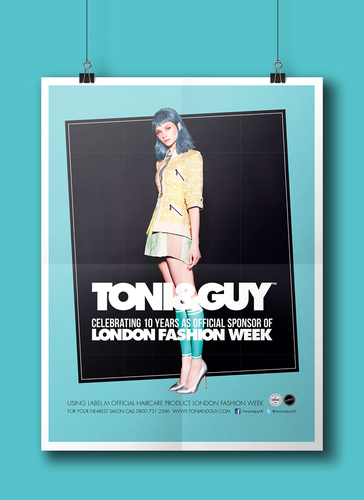 Editorial Design For Toni And Guy Hair On Behance