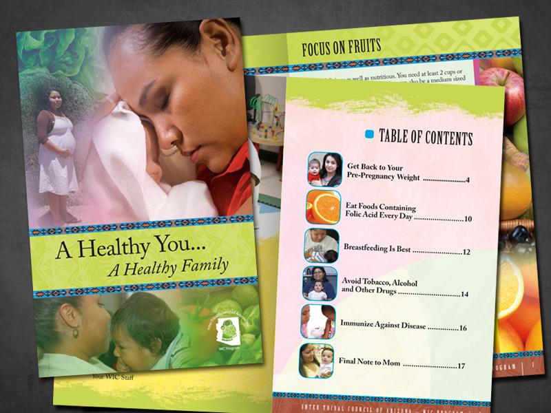 wic nutritional booklet on behance