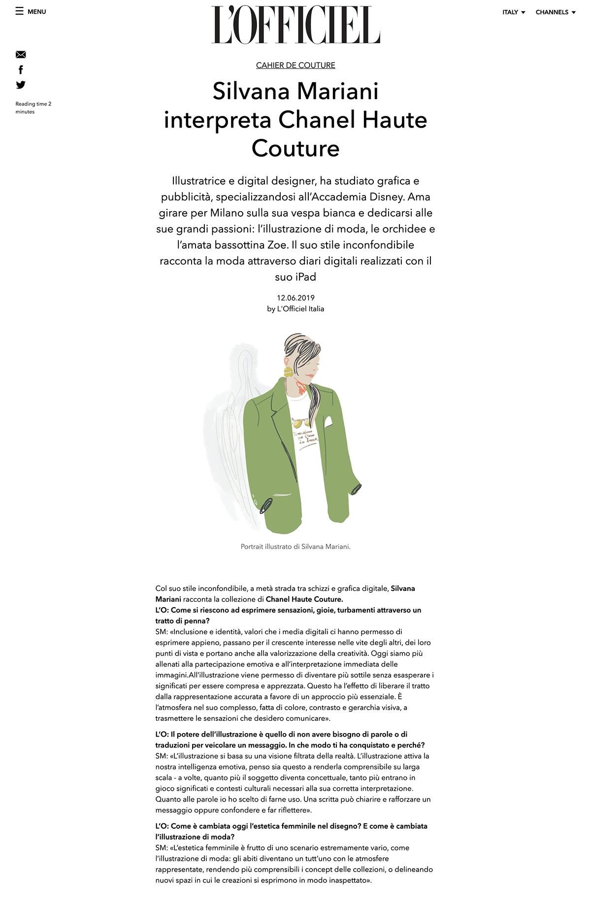 fashion illustration Magazine illustration Haute couture