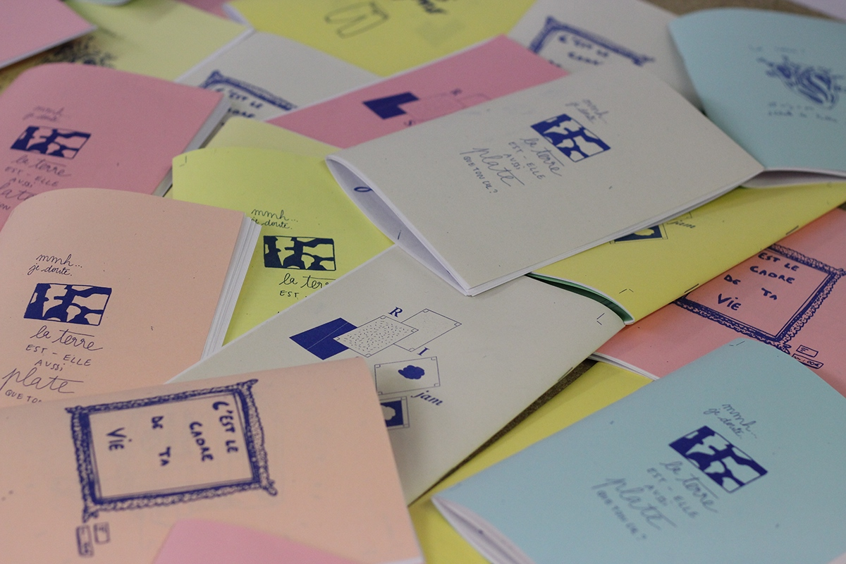risograph Workshop Zines mediation graphic design  conversation