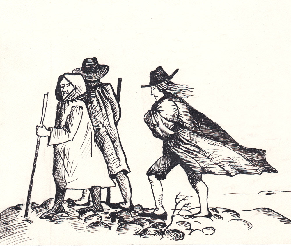 book illustration nabokov frontispiece black and white ink Chekhov book design Dostoyevsky Russian literature