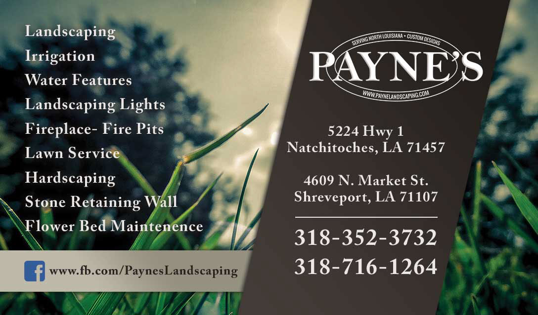 Paynes landscaping on behance business card design reheart Images