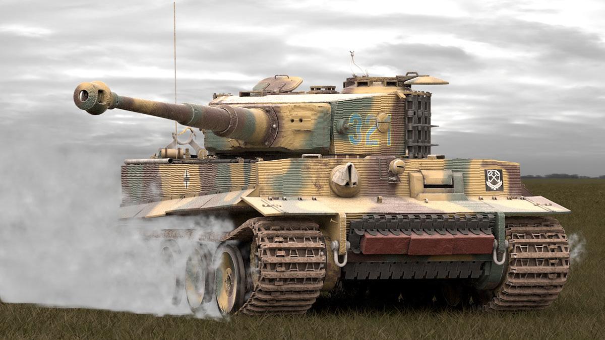 Pz Kpfw  Vi Tiger Ausf  E On Behance