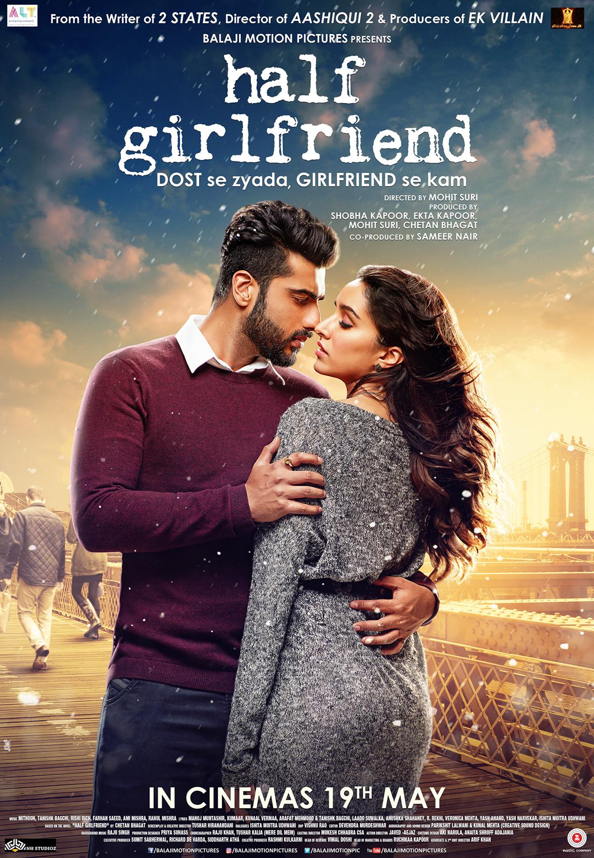 HALF GIRLFRIEND FILM POSTERS on Behance