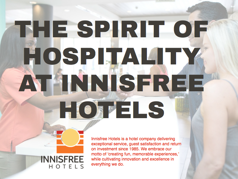 Innisfree Hotels Career Powerpoint/Keynote Presentation on