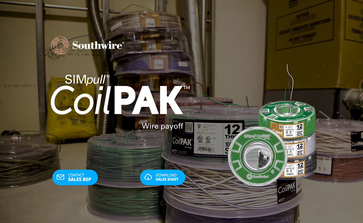 Southwire Landing Pages on Behance