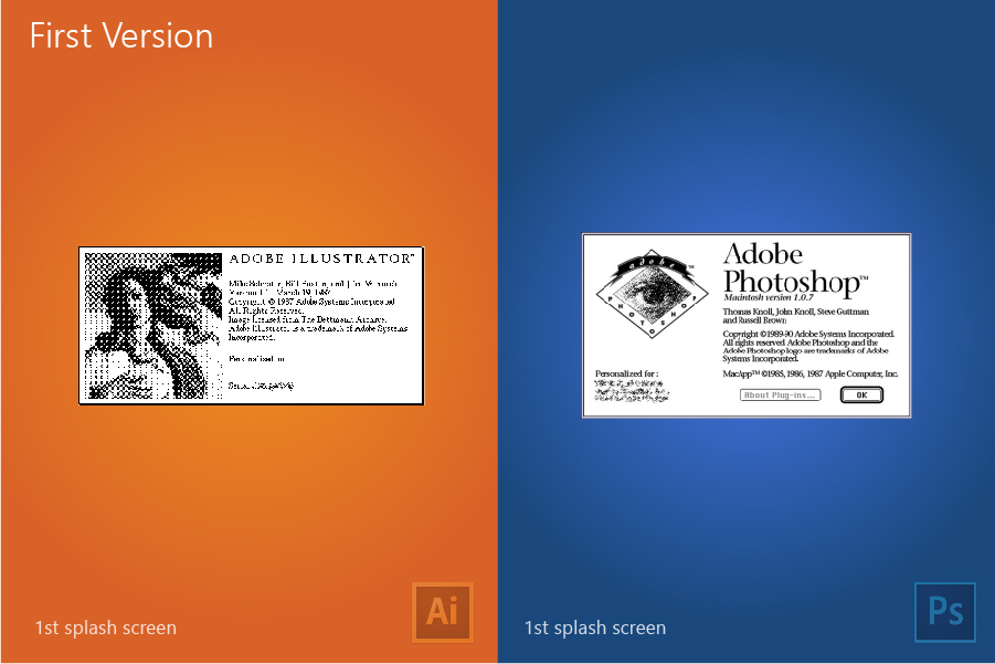 Illustrator Vs Photoshop on Behance
