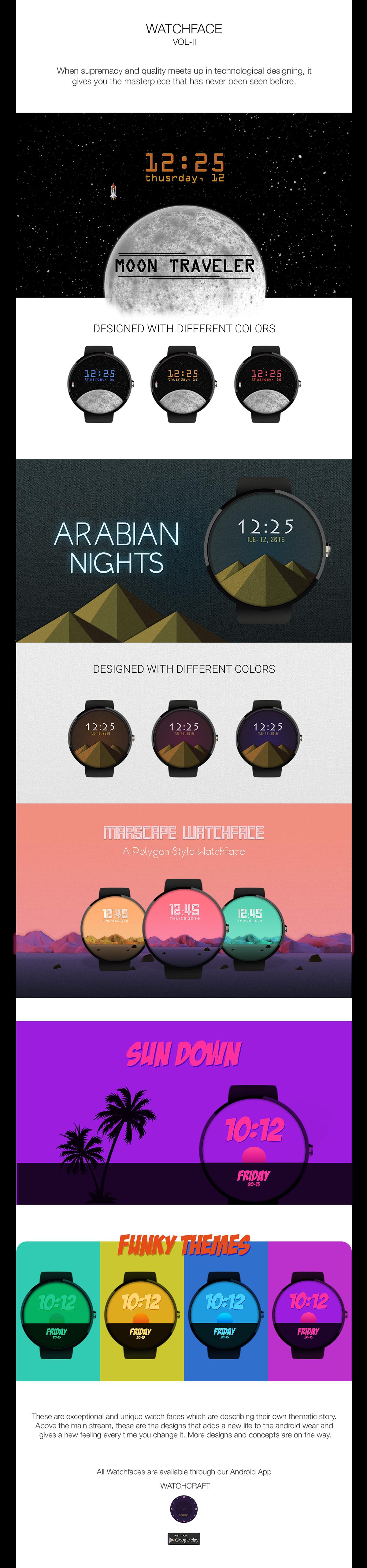 nextin watch craft Android Wear smart watch ILLUSTRATION  wear wear design