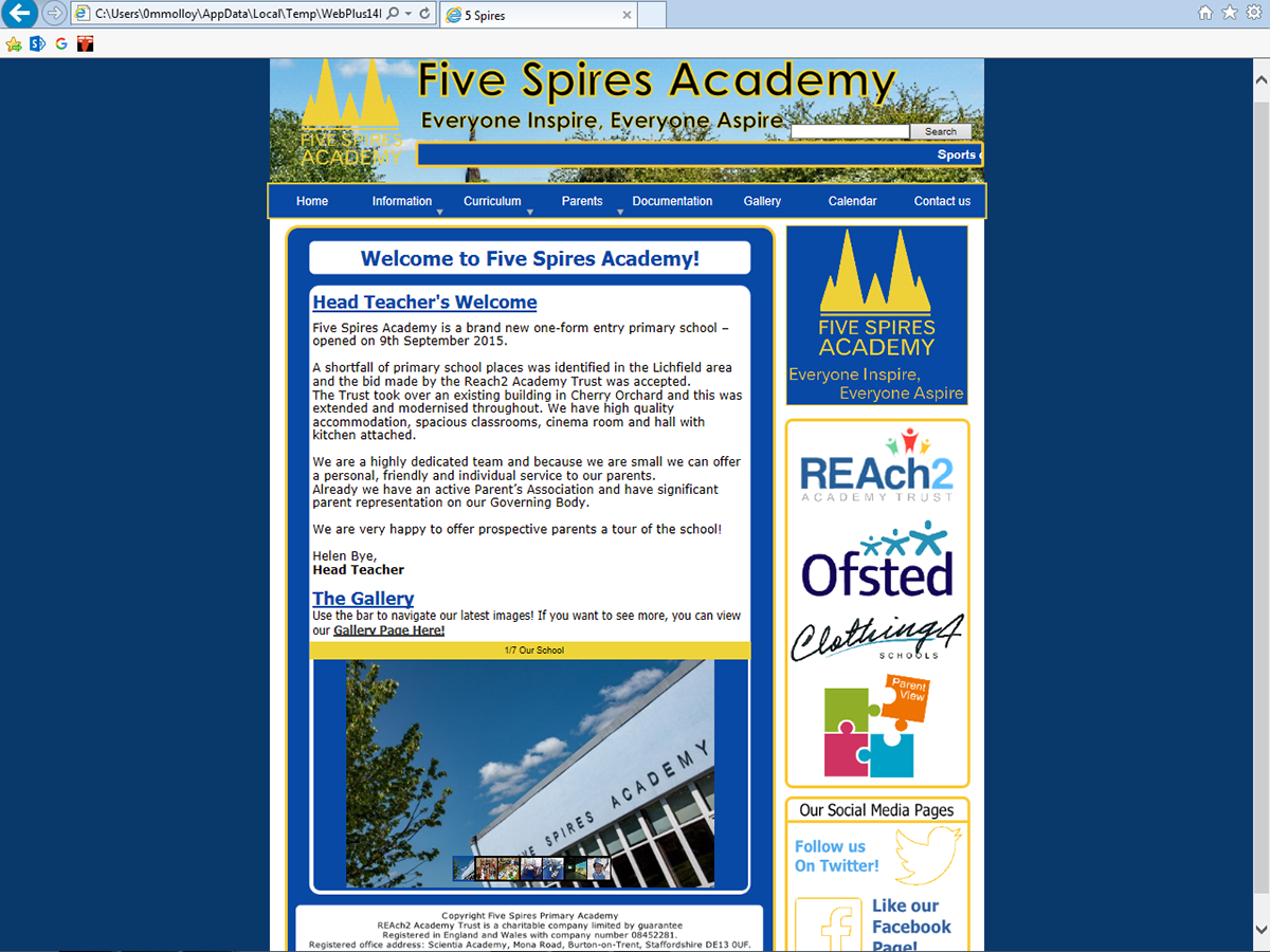 Reach2 Academy Trust >> Five Spires Academy A Real Experience On Behance