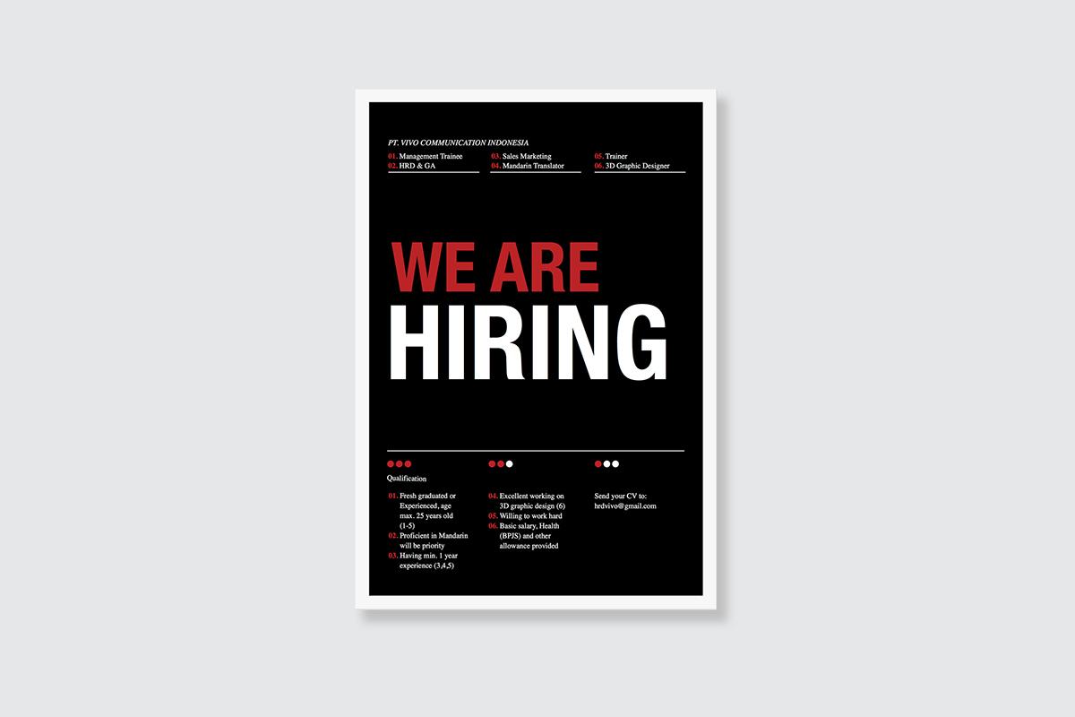 sample poster for job hiring