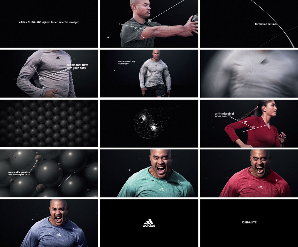 Adidas ClimaLite Technology