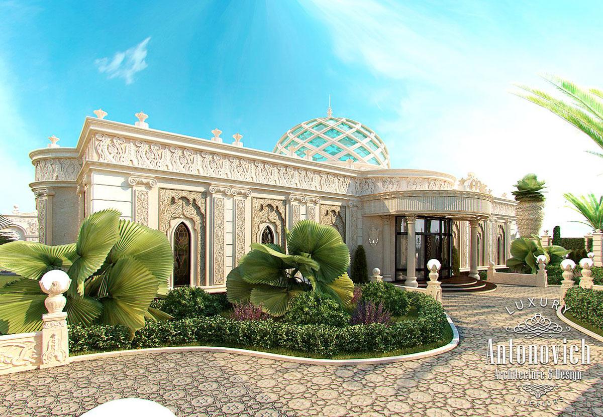The exterior design dubai from kateryna antonovich on behance for Dubai house design
