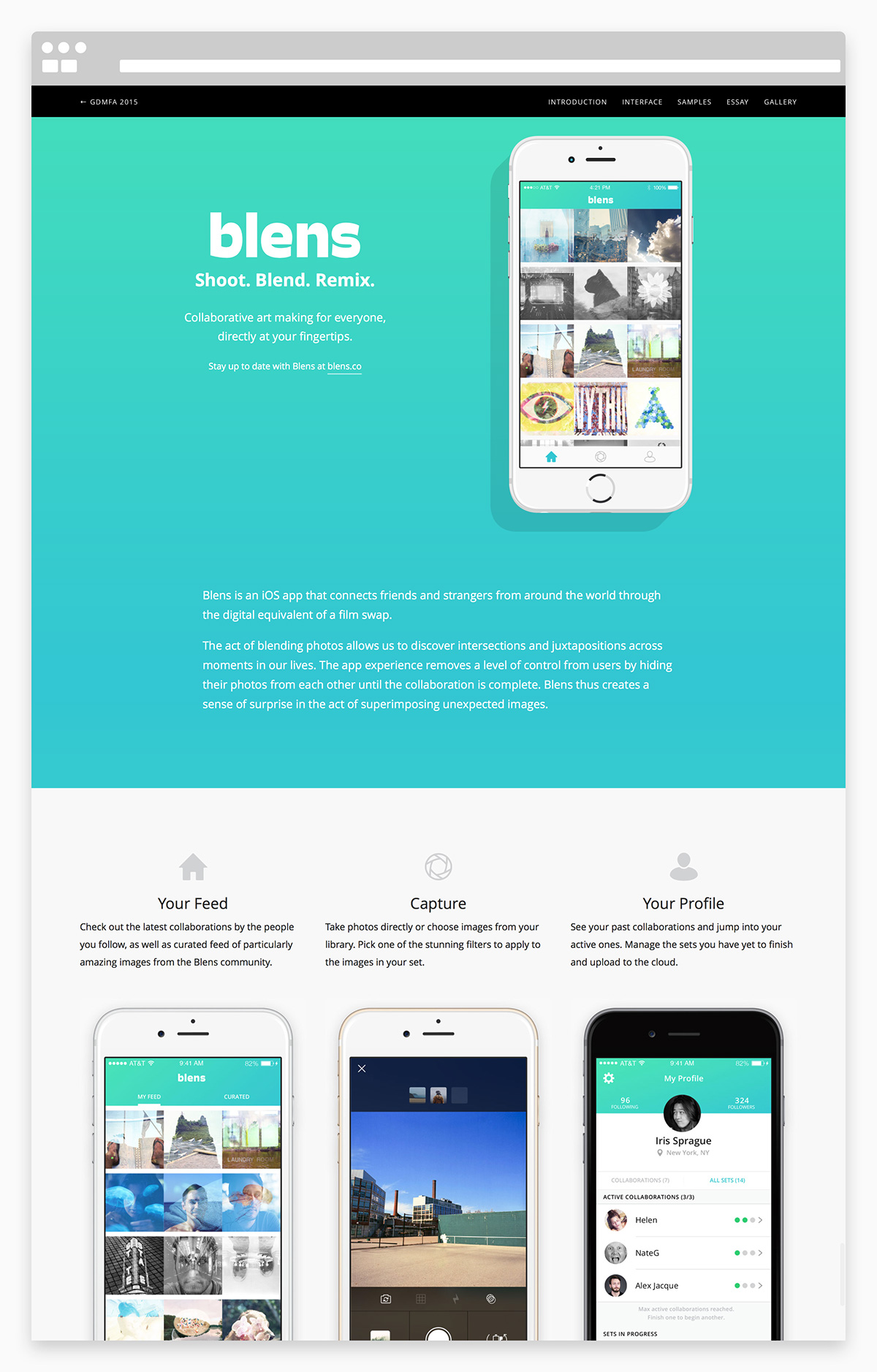 app mobile social network Collaboration adaa_2015 adaa_school maryland_institute_college_of_art adaa_country united_states adaa_web_and_application_design