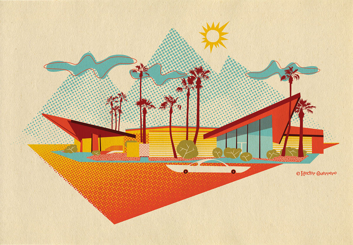 This Design Is Inspired By The Googie Style Building Bowl In Phoenix Az