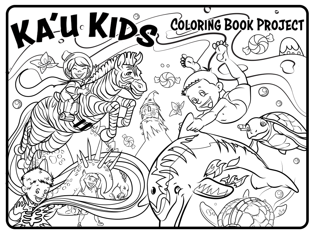 Coloring Book Project - Fundraiser on Behance